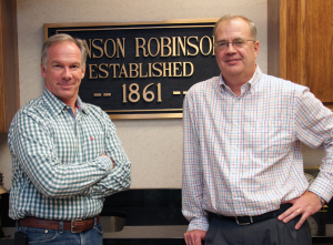 Daniel Hoselton and Steve Etheridge of Henson Robinson.
