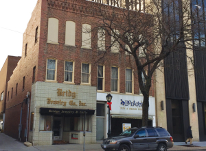 A new restaurant tenant, soon to be announced, and two floors of residential space are on the drawing board for this development on South Fifth Street, courtesy of the federal Historic Preservation Tax Credit program.