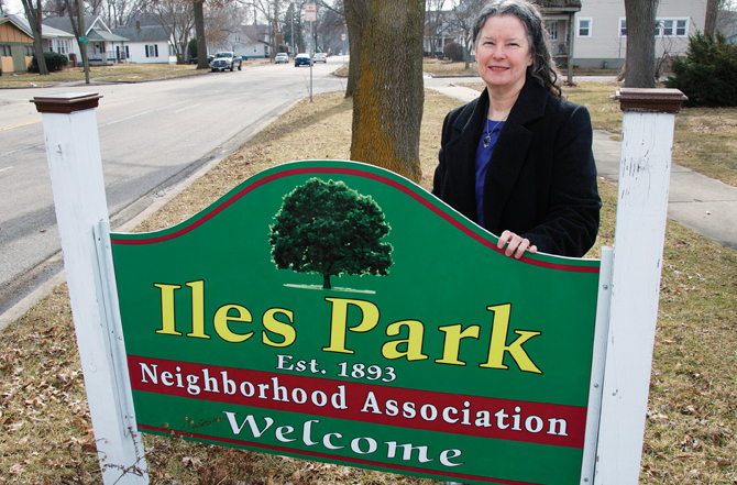 A neighborhood organization with a vision