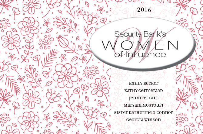 Security Bank's Women of Influence 2016