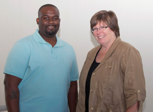 Corey Johnson and Jean Winn of Horace Mann.