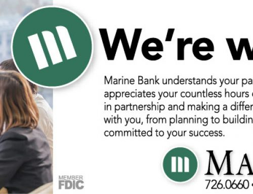 Marine Bank: We're with you
