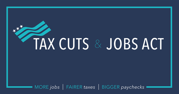 Tax Cuts and Jobs Act seminar being offered.