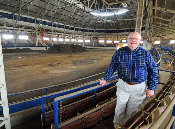 State fairgrounds seek money for a makeover