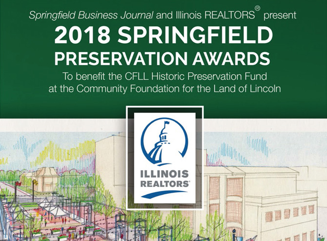 2018 Springfield Preservation Awards Recipients