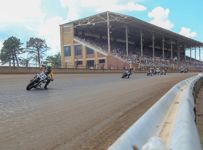 Motorcycle racing grows from rural sport to big business