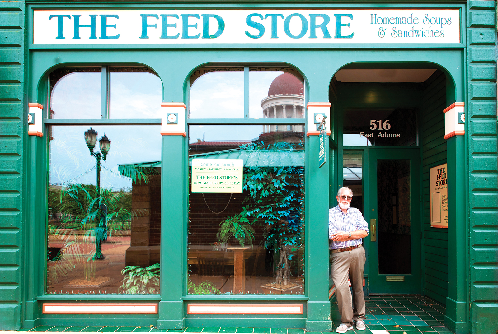 The  Feed Store – A Q&A with Ross Richardson and Ann Laurence
